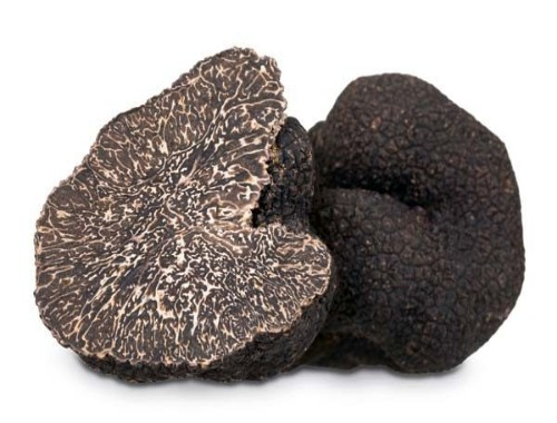Black italian truffles