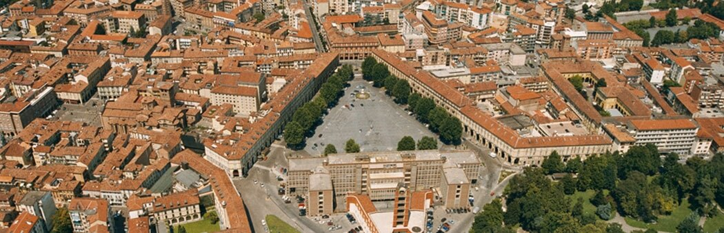 Overview of Asti city