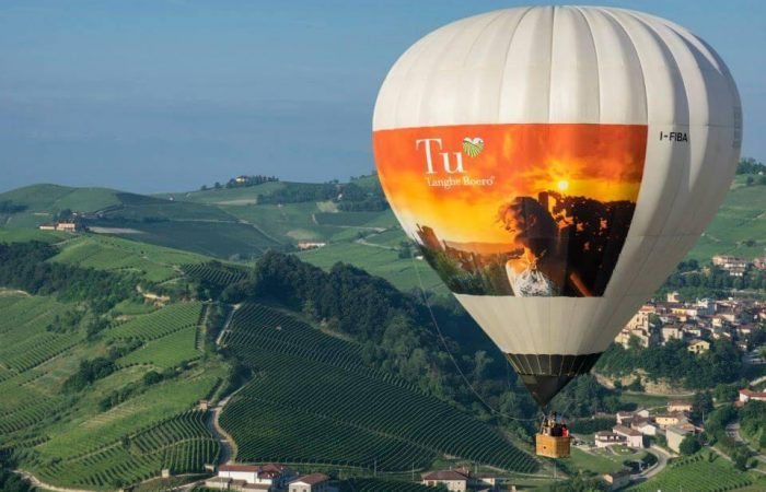 barolo hot air balloon ride